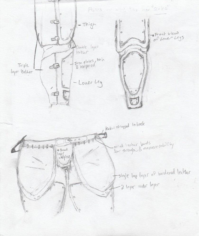 Waist and Legs